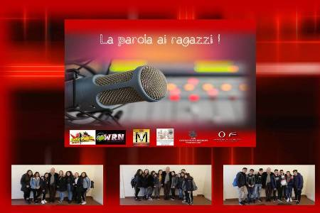 A Ophelia's Friends On Air Gli studenti Protagonisti