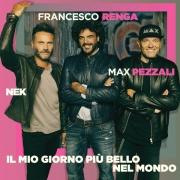 Max Pezzali, Nek e Francesco Renga presentano Il mio giorno piu' bello
