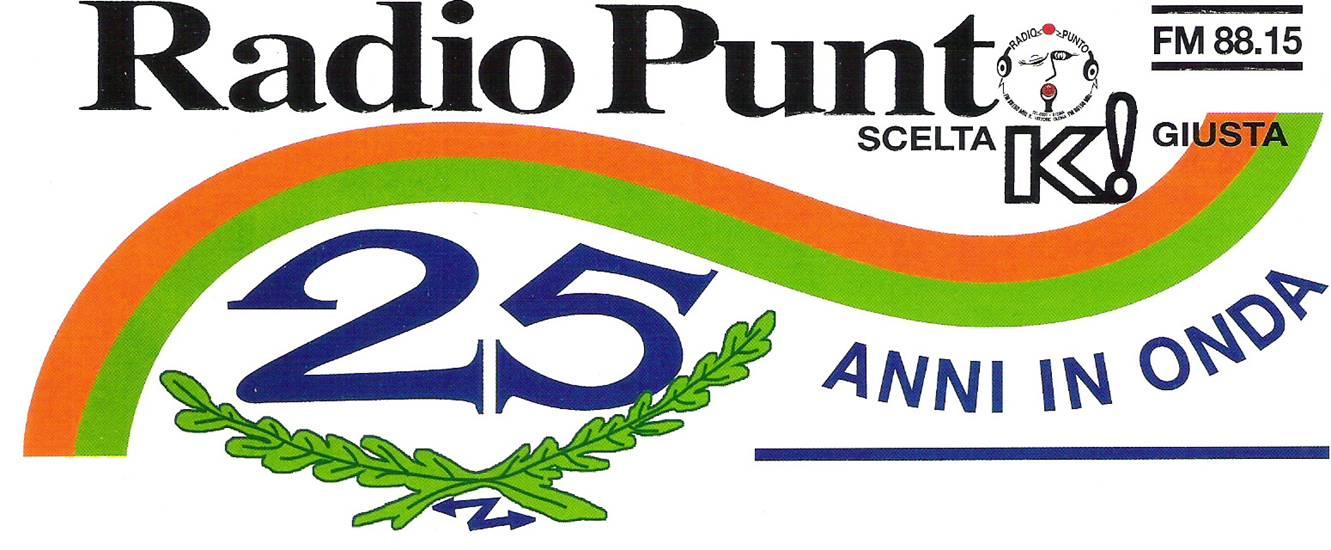 Logo Radio Punto 25 anni