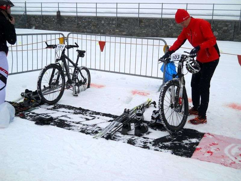 Winter Triathlon Valgrisenche