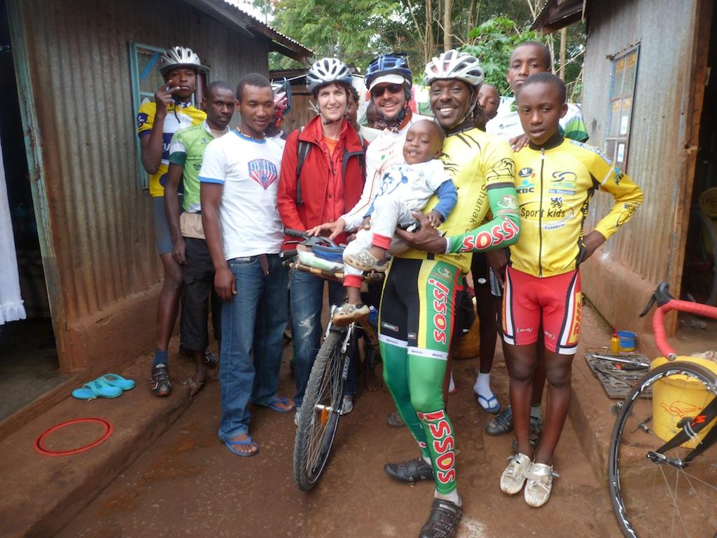 Lusaka-Londra su una Bici in Bamboo 4a Settimana