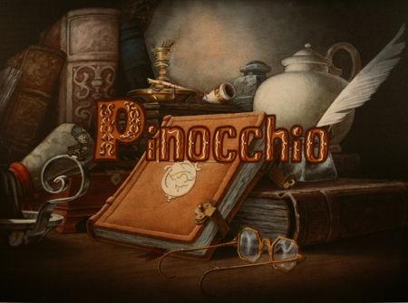 Pinocchio Illustrato in dialetto