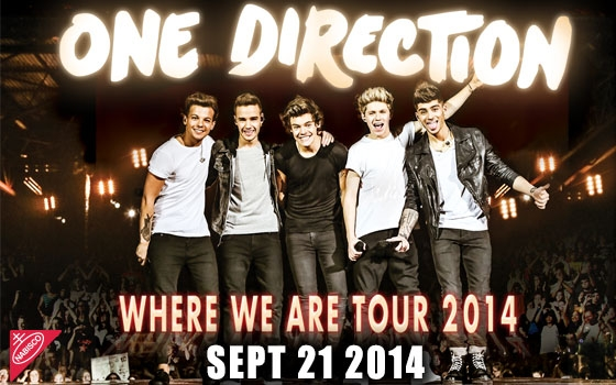 One direction where we are