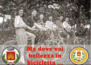 Festa bellezza in biciletta